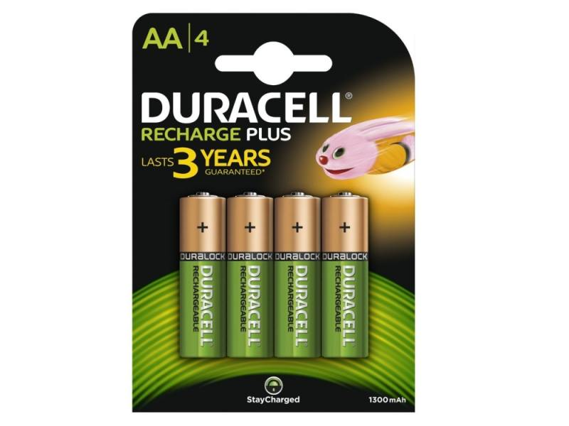 Аккумулятор 1300 mAh Duracell HR6-4BL AA 4 шт kodak hr6 4bl 1700mah [kaahr 4] 80 640