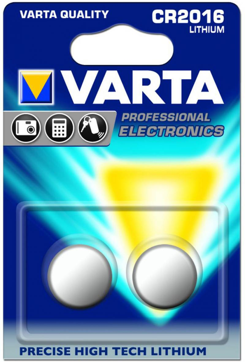 Батарейки Varta Electronics CR2016 2 шт aluminum project box splitted enclosure 25x25x80mm diy for pcb electronics enclosure new wholesale