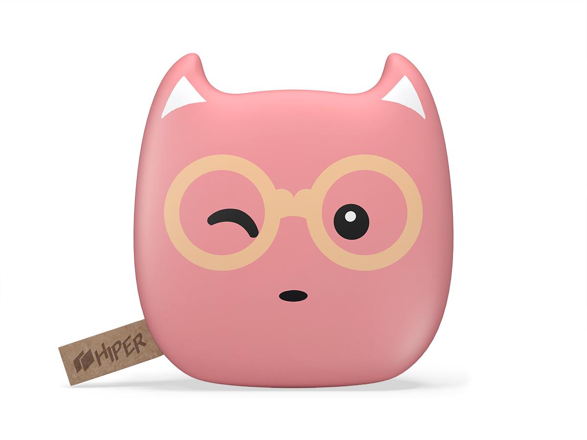 Внешний аккумулятор HIPER ZOO Glasses/BubbleGum (7500мАч)