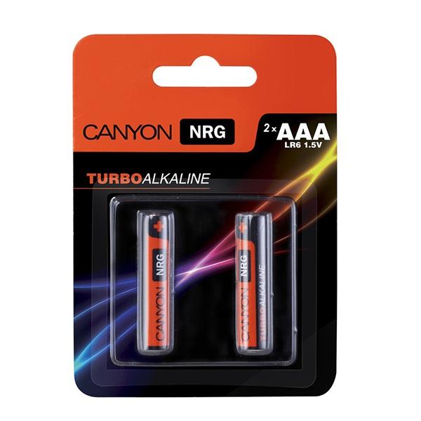 Батарейки CANYON LR06 (AAA) Alkaline ( 2шт)