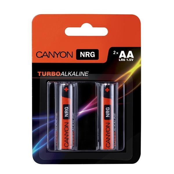 Батарейки CANYON LR03 (AA) Alkaline ( 2шт)