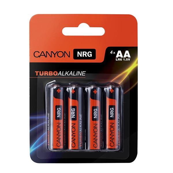 Батарейки CANYON LR03 (AA) Alkaline ( 4шт)