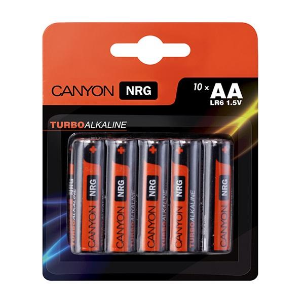 Батарейки CANYON LR03 (AA) Alkaline (10шт)