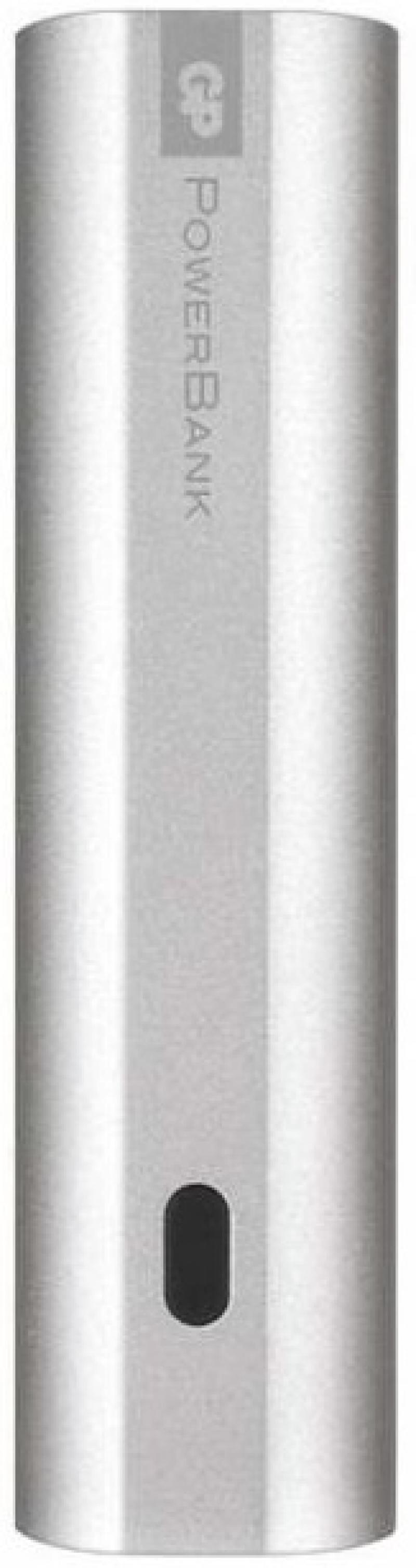 Внешний аккумулятор GP Portable PowerBank FN03M 3000mAh серебристый внешний аккумулятор gp portable powerbank fn03m 3000mah черный