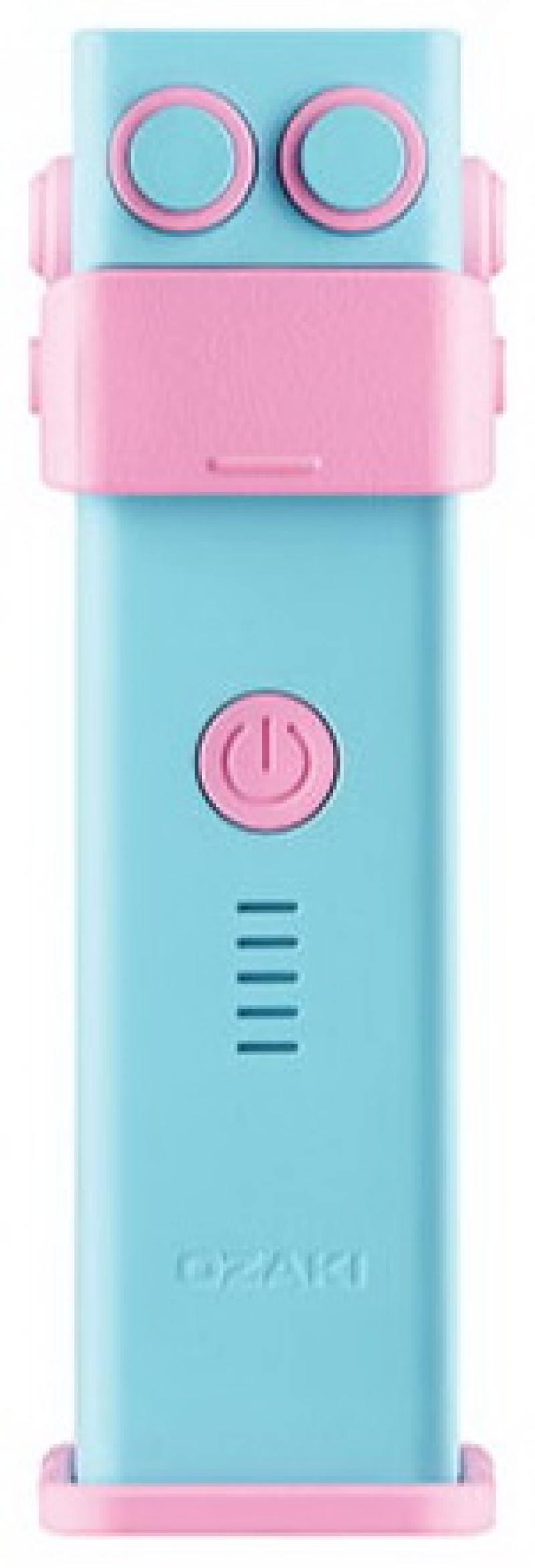 Портативное зарядное устройство Ozaki O!tool-Battery-D26 литий-ионный 2600 МаЧ голубой ОТ240АВ