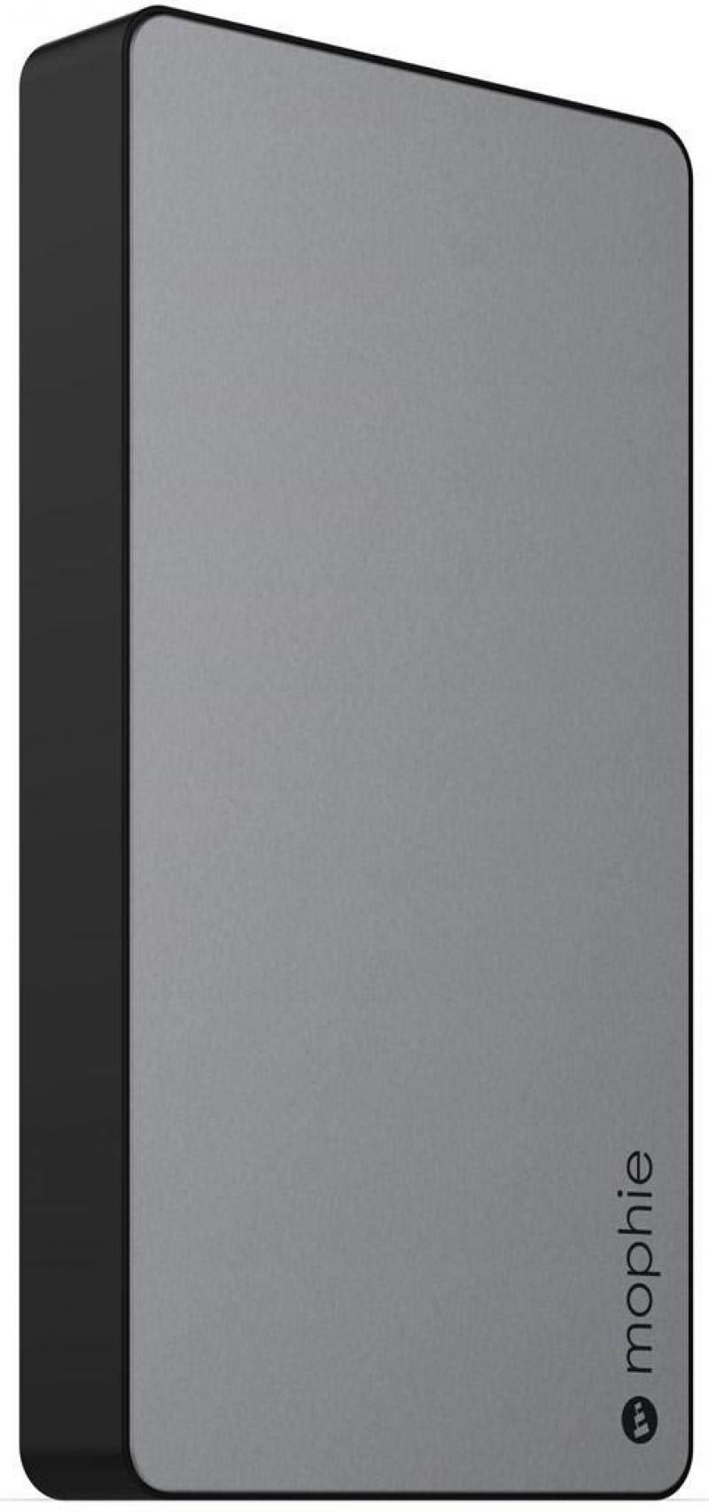 Портативное зарядное устройство Mophie PowerStation XL 10000мАч серый 3562 портативное зарядное устройство cactus cs pbas283 10000мач черный серый