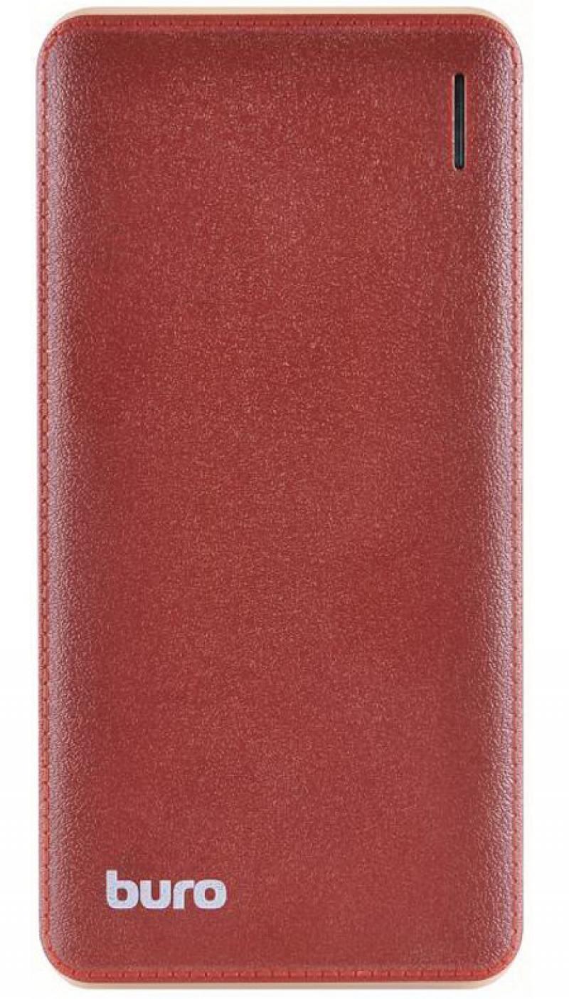 Портативное зарядное устройство Buro T4-10000 10000мАч коричневый