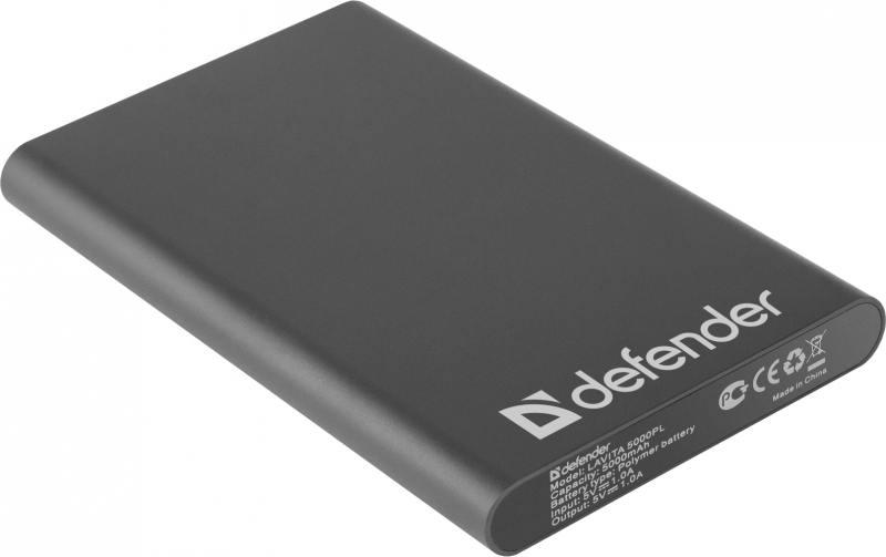 Портативное зарядное устройство Defender Lavita 5000PL