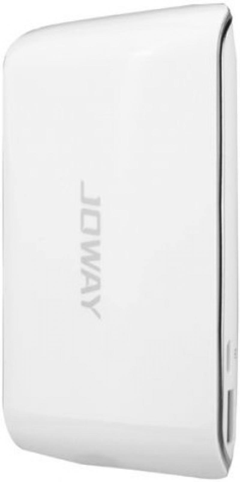 Внешний аккумулятор Joway JP29 6000 mAh белый аккумулятор gopro portable power pack 6000 mah azpbc 001