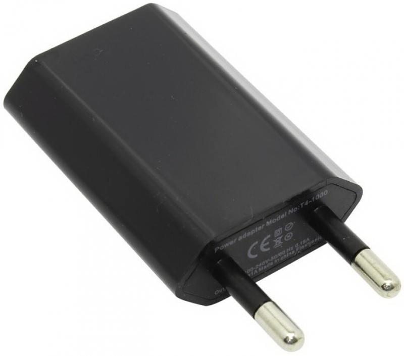Сетевое зарядное устройство KS-is OnlyHome KS-195 1A черный