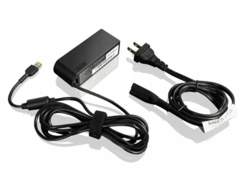Сетевое зарядное устройство Lenovo для ThinkPad 10 36W AC черный 4X20E75067