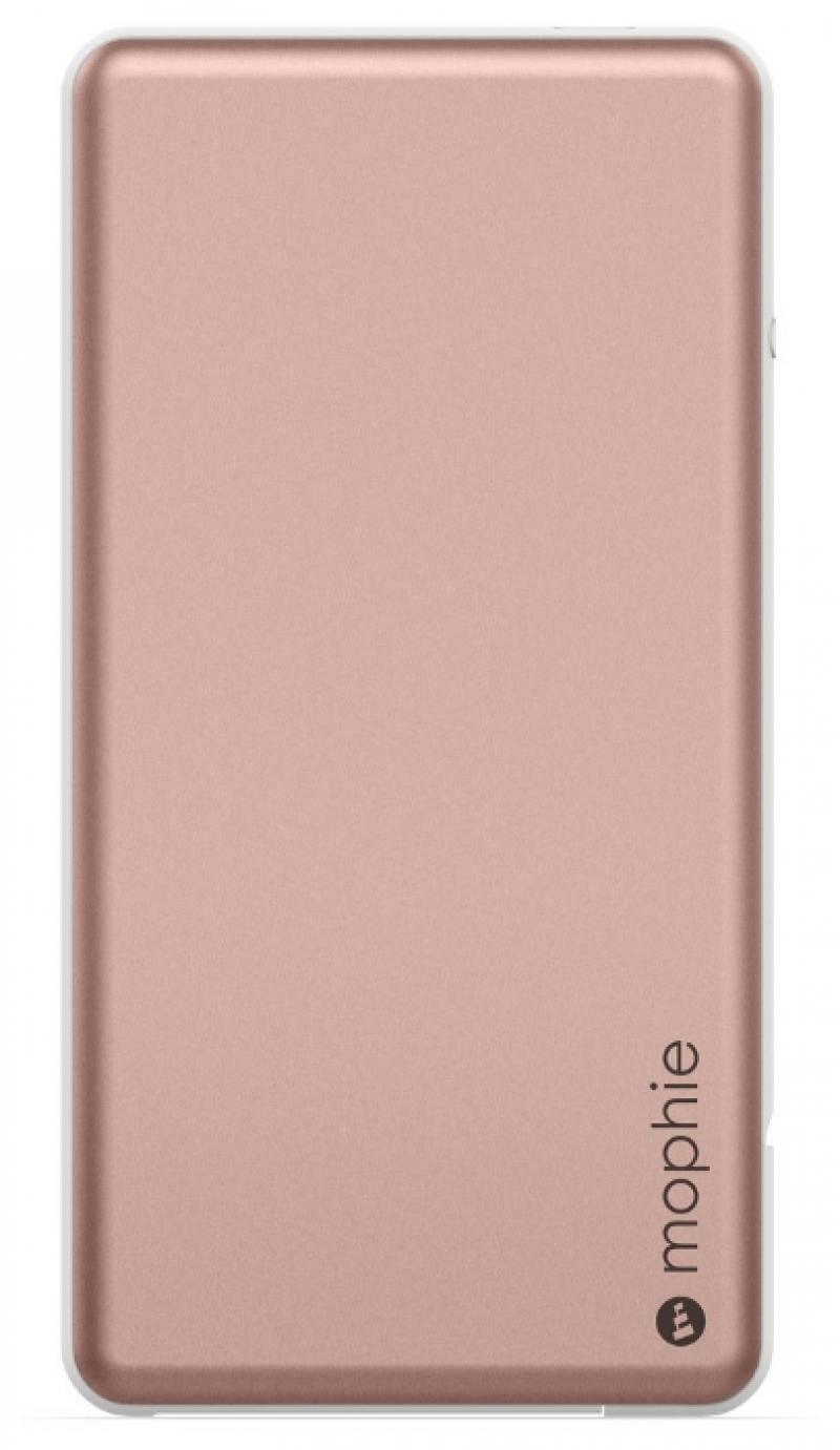Портативное зарядное устройство Mophie PowerStation Plus mini 4000мАч розовое золото 3543