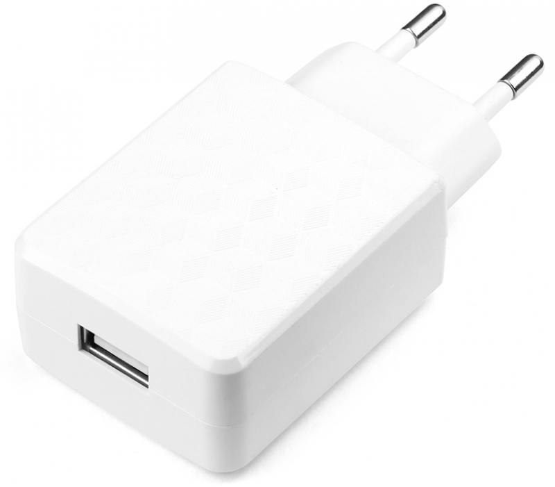 Сетевое зарядное устройство Cablexpert MP3A-PC-05 2А USB белый