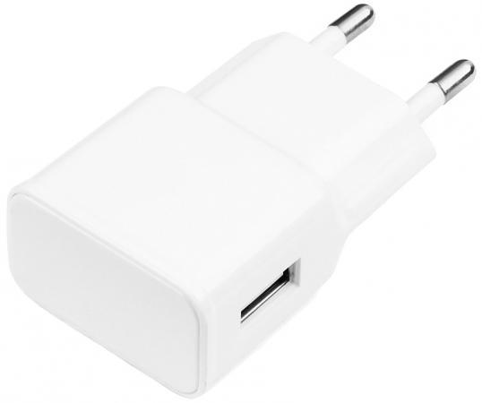 Сетевое зарядное устройство Cablexpert MP3A-PC-09 1A USB белый цена