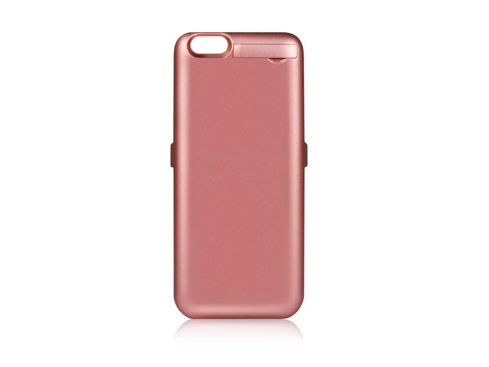 Фото Аккумулятор-чехол для iPhone 6/6S/7 DF iBattery-14s (rose gold) чехол аккумулятор df ibattery 14s для iphone 6 6s 7 розовое золото