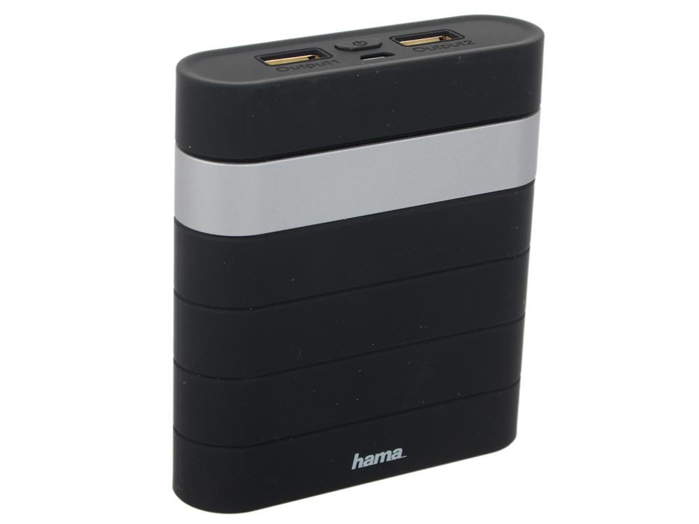 Фото - Портативное зарядное устройство Hama Joy Li-Ion 10400мАч черный 00137493 внешний аккумулятор для портативных устройств hama joy li ion 10400mah черный 137493