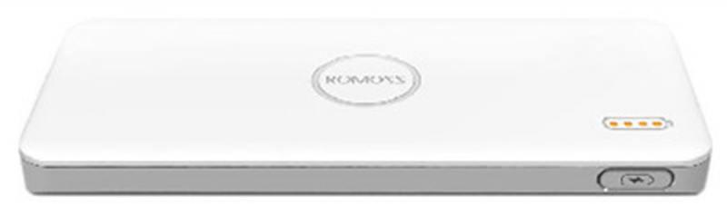 Внешний аккумулятор Romoss polymos QS 05 5000mAh белый original romoss polymos 10 air 10000mah dual usb li polymer power bank