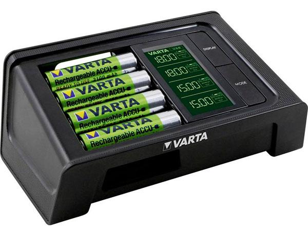 Зарядное устройство VARTA LCD Smart 57674101441
