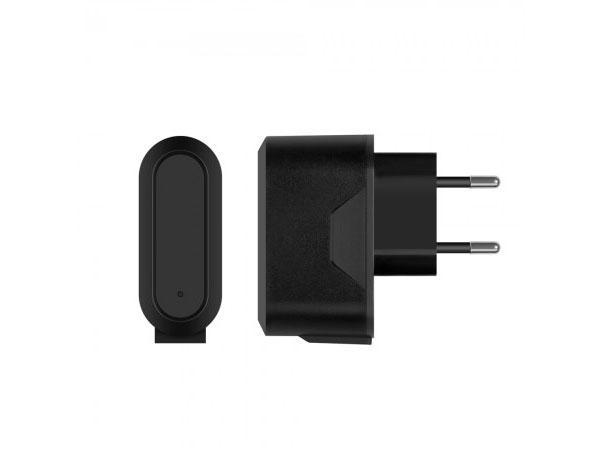 Сетевое зарядное устройство Prime Line 2314 2 USB, 2.1A, micro USB дата-кабель, черный