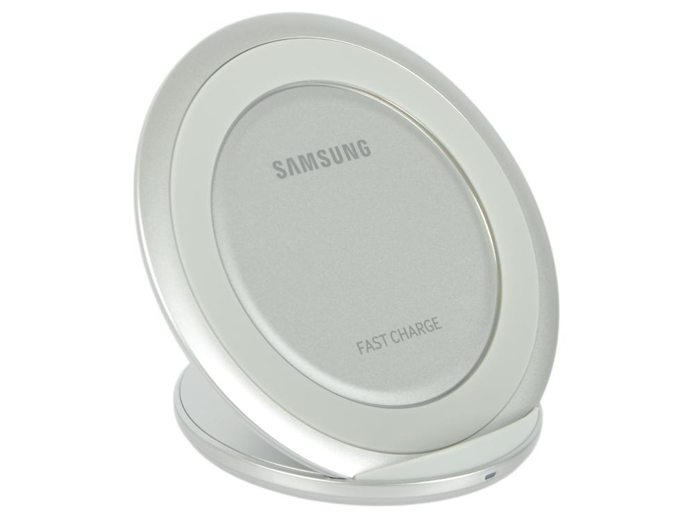 Беспроводное зарядное устройство Samsung EP-NG930BSRGRU 2A серебристый беспроводное зар устр samsung ep ng930twrgru 2a для samsung белый