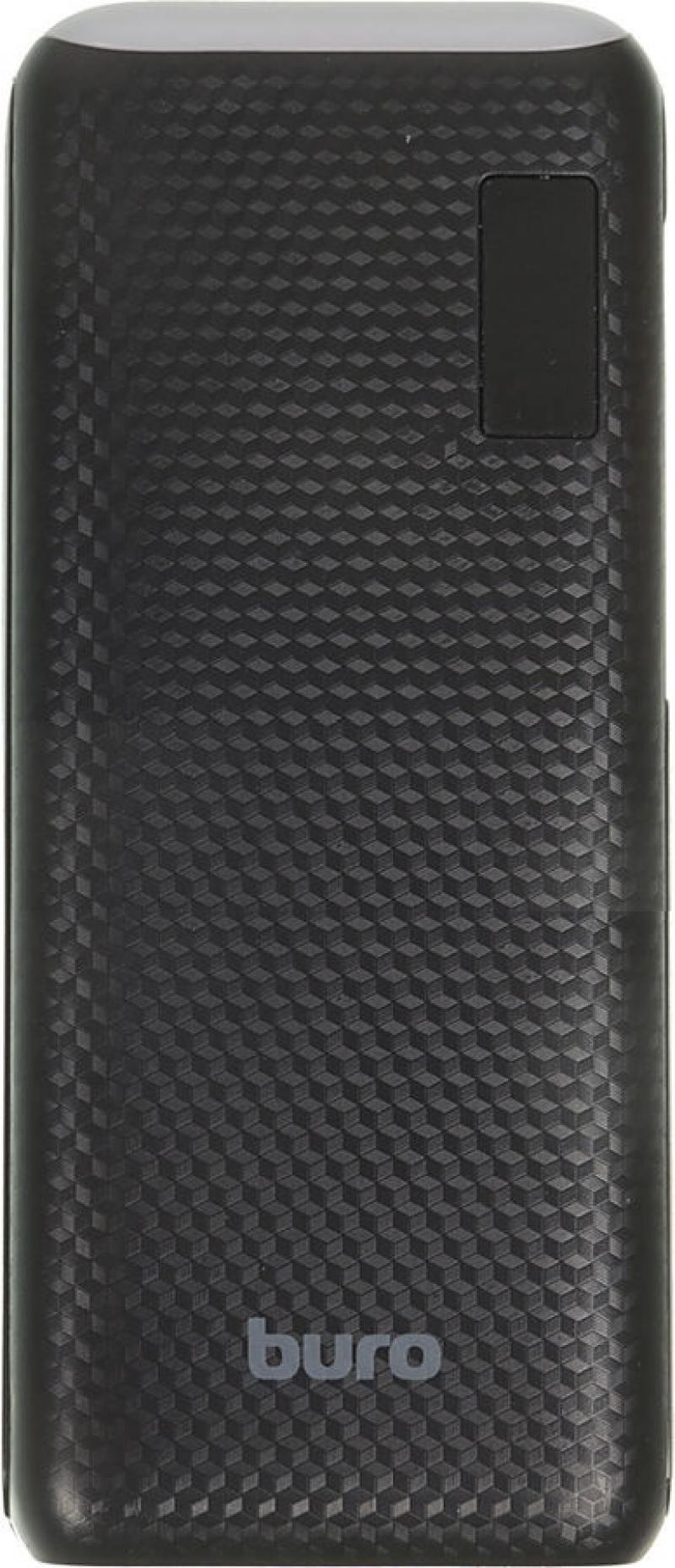 Фото - Портативное зарядное устройство Buro RC-12750B 12750мАч черный внешний аккумулятор для портативных устройств buro rc 12750b 12750mah черный rc 12750b