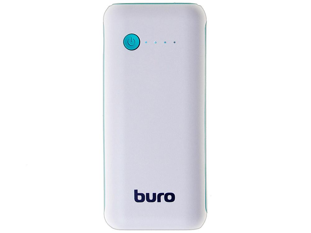 Портативное зарядное устройство Buro RC-5000WB 5000мАч белый/голубой портативное зарядное устройство canyon cns tpbp5w 5000мач белый