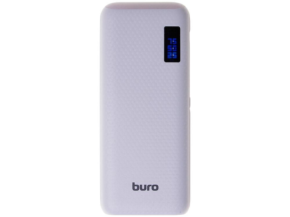 Портативное зарядное устройство Buro RC-12750W 12750мАч белый цена и фото