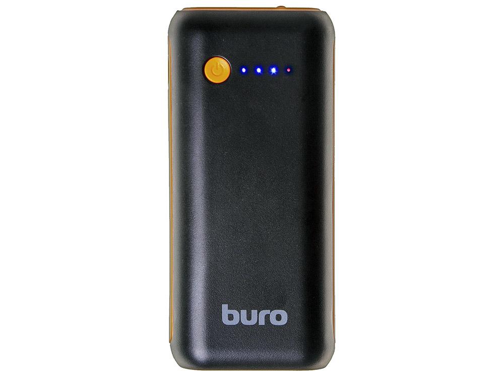 Портативное зарядное устройство Buro RC-5000BO 5000мАч черный/оранжевый