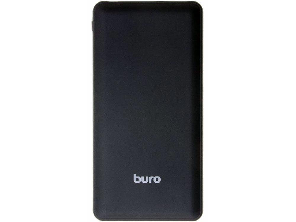 Портативное зарядное устройство Buro RA-10000SM 10000мАч черный внешний аккумулятор для портативных устройств buro ra 10000sm 10000mah черный ra 10000sm