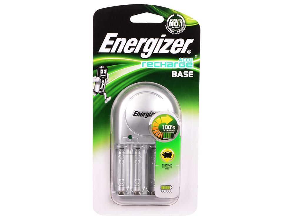 Зарядное устройство Energizer Base без аккумуляторов (635074/E300320900) зарядное устройство аккумуляторы energizer base 4aa 1300mah