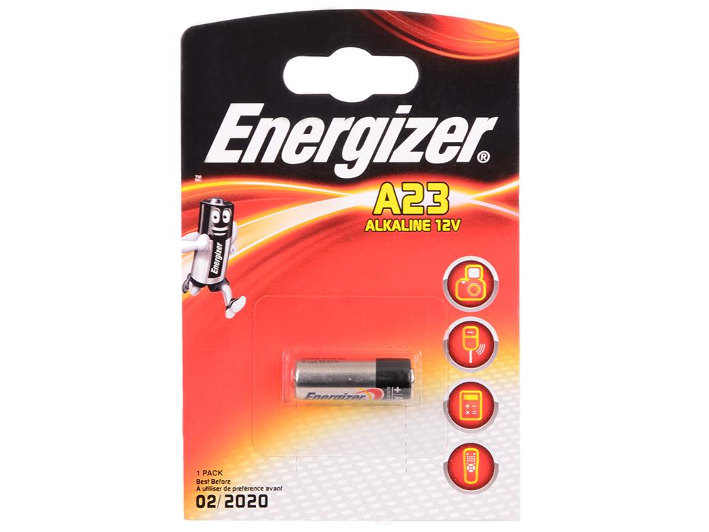 Батарейки Energizer Alkaline A23/E23A 1шт (639315) lr1 e90 energizer alkaline 1 штука