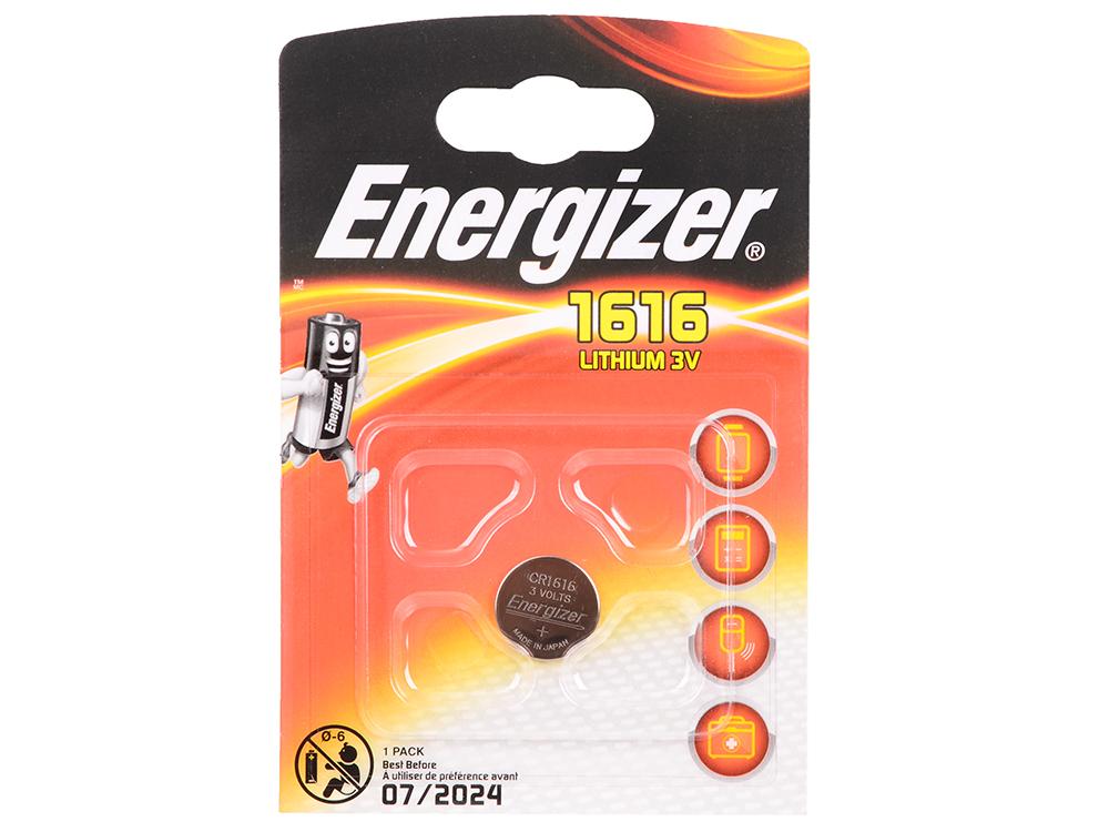 Батарейки Energizer Lithium CR1616 1шт. (E300163700/E300843901/611322)