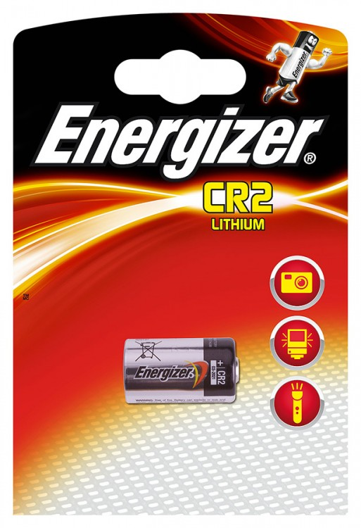 Батарейки Energizer Photo Lithium CR2 1шт. (638011) батарейки energizer c
