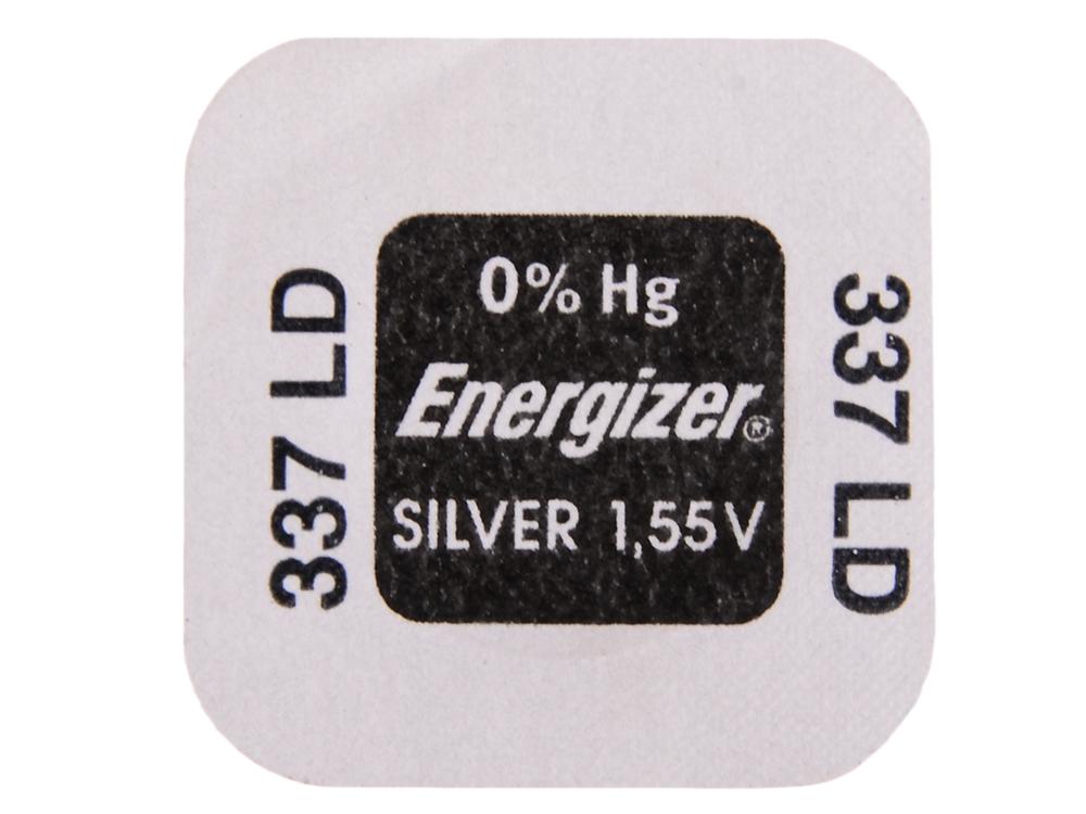 Батарейки Energizer Silver Oxide 337 1шт. (635317E1093601)