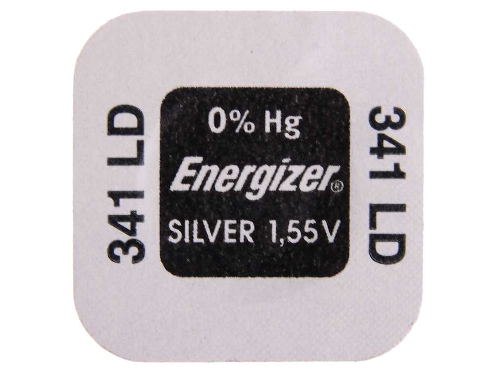 Батарейки Energizer Silver Oxide 341 1шт. (635316)