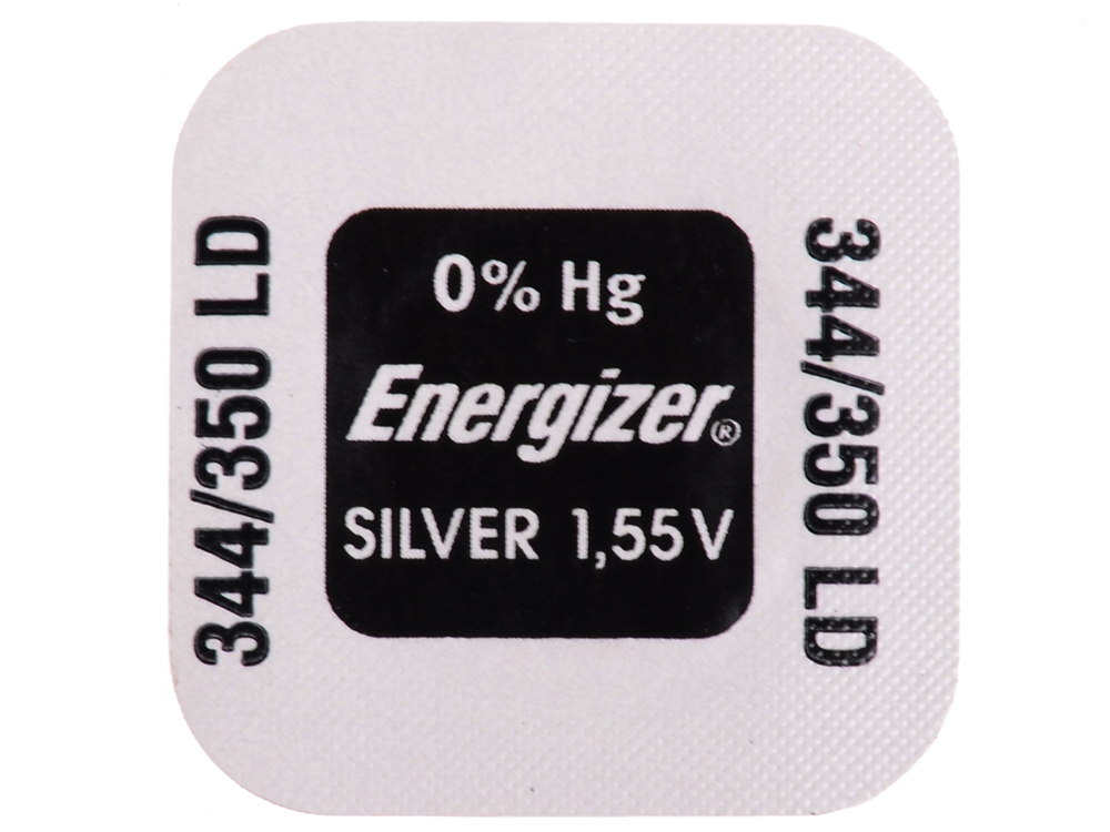 Батарейки Energizer Silver Oxide 344/350 1шт. (635310)
