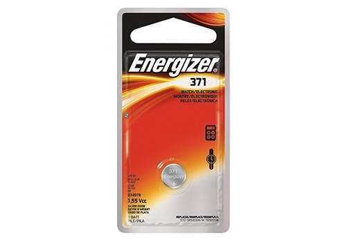 Батарейки Energizer Silver Oxide 371/370 1шт. (635706/E1119701)