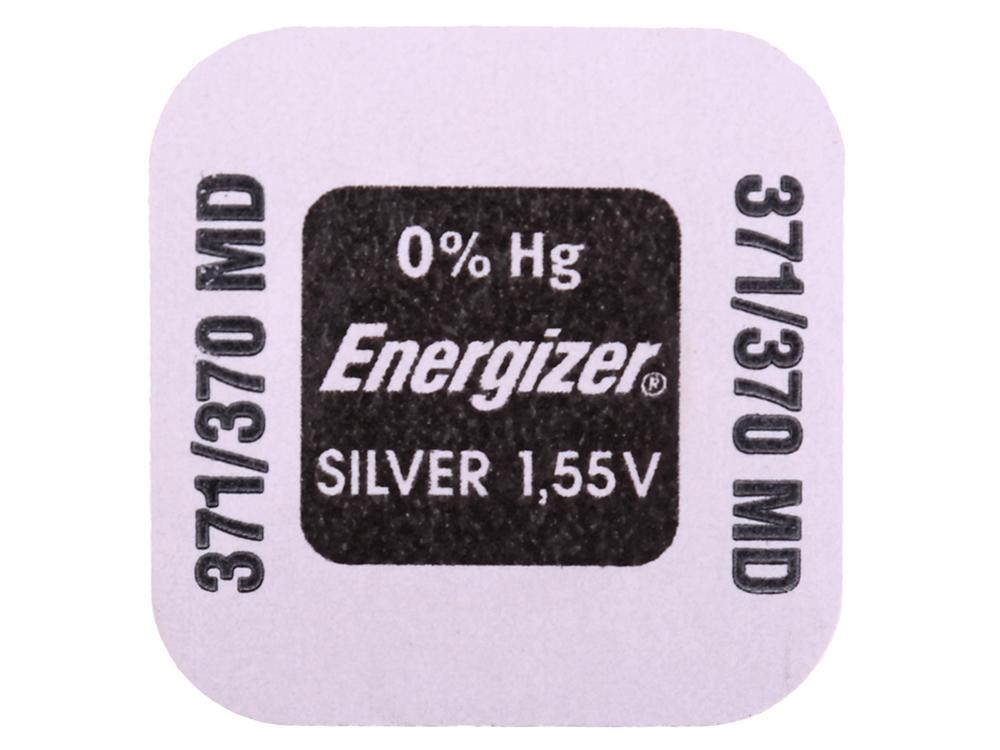 Батарейки Energizer Silver Oxide 371/370 1шт. (635706/E1119701) аккумулятор energizer aa hr6 2300mah 4шт