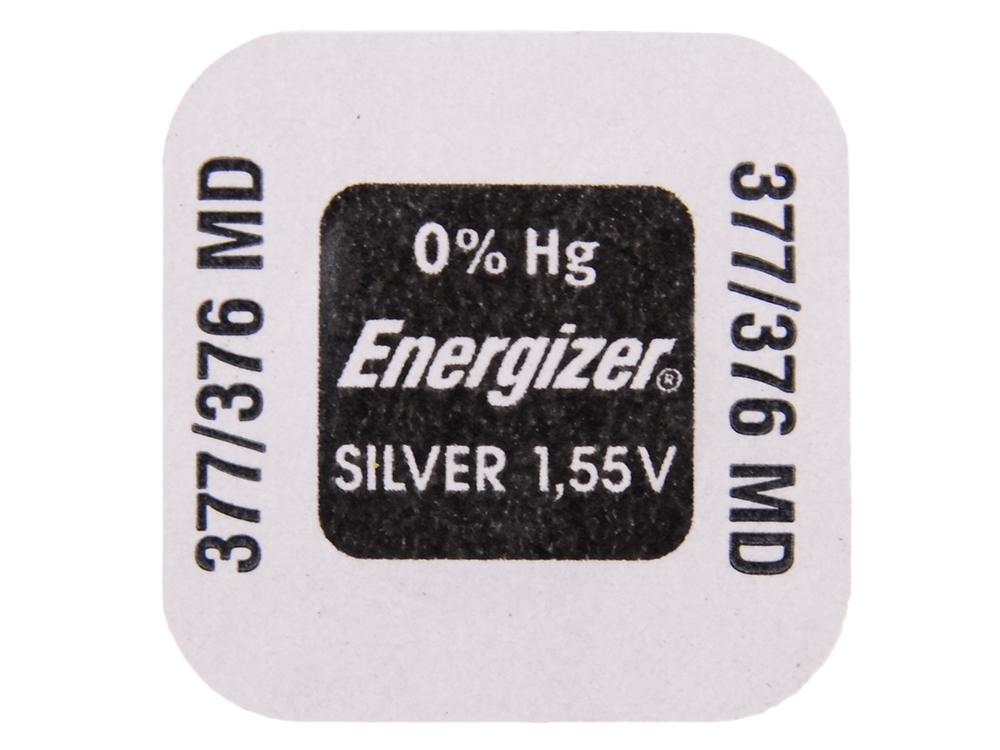Батарейки Energizer Silver Oxide 377/376 1шт. (635705/E1119801)