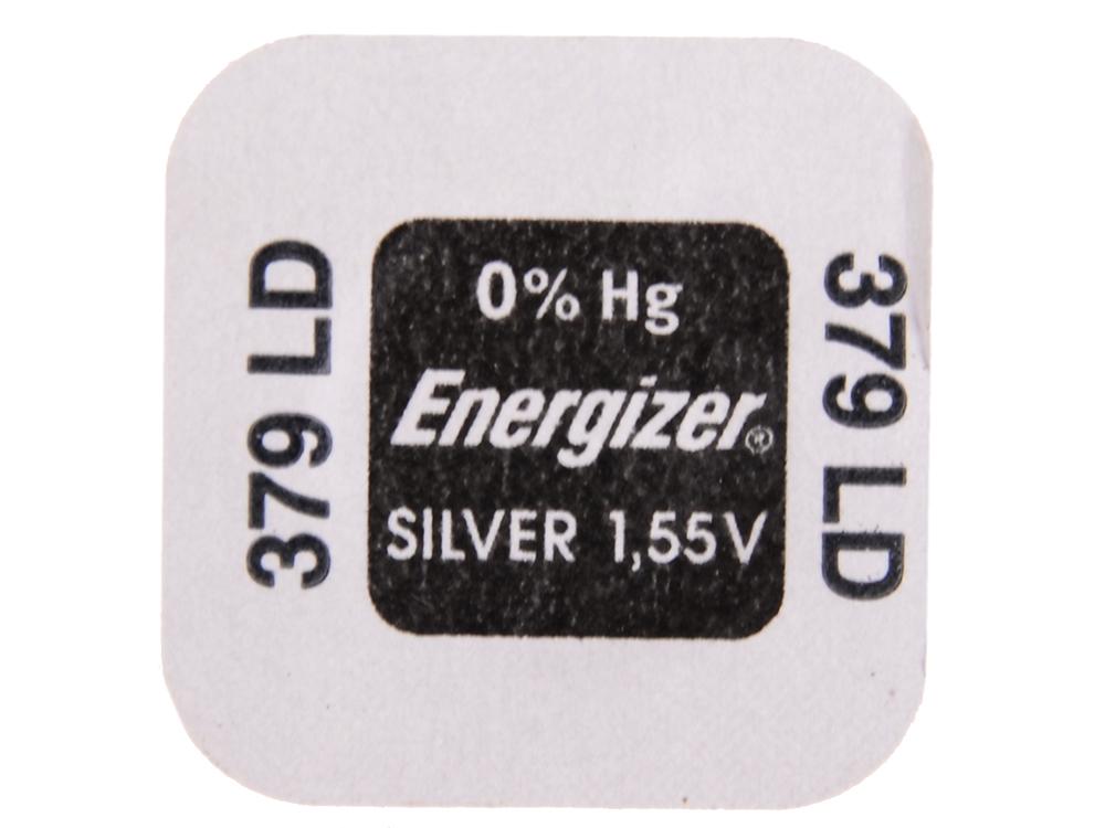Батарейки Energizer Silver Oxide 379 1шт. (638006/E1094602)