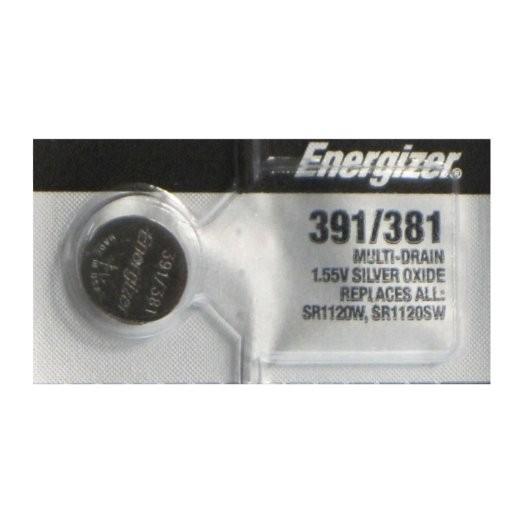 Батарейки Energizer Silver Oxide 391/381 1шт. (635605)