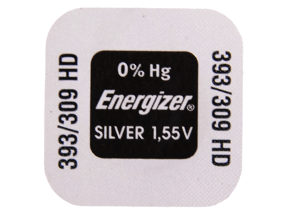 Батарейки Energizer Silver Oxide 393/309 1шт. (635312) батарейки sony 335 sr512swn pb 1шт
