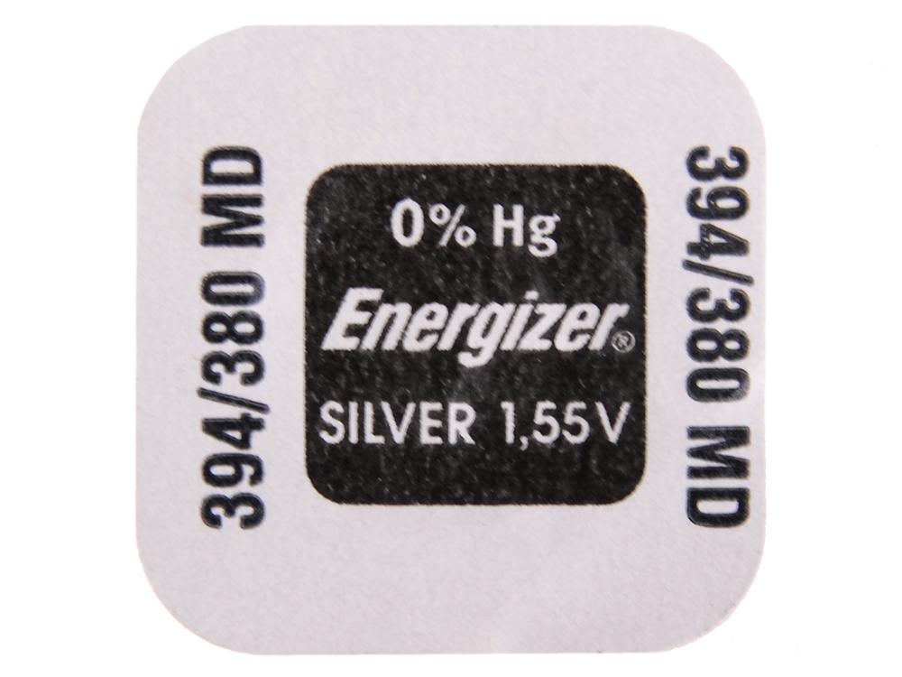 Батарейки Energizer Silver Oxide 394/380 1шт. (637343/E1094002)
