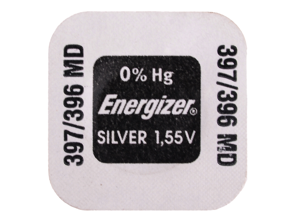 Батарейки Energizer Silver Oxide 397/396 1шт. (637332) батарейки sony 397 sr726swn pb 1шт