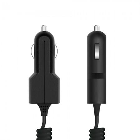 Автомобильное зарядное устройство Prime Line 2202 micro USB, 1A, черный автомобильное зарядное устройство molecula 1a с кабелем micro usb черный