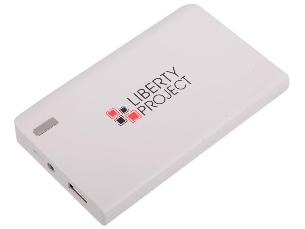 Внешний аккумулятор LP 6000 мАч Li-Pol USB выход 2,1А (белый) 0L-00029996 fleetwood mac fleetwood mac mirage 5 lp