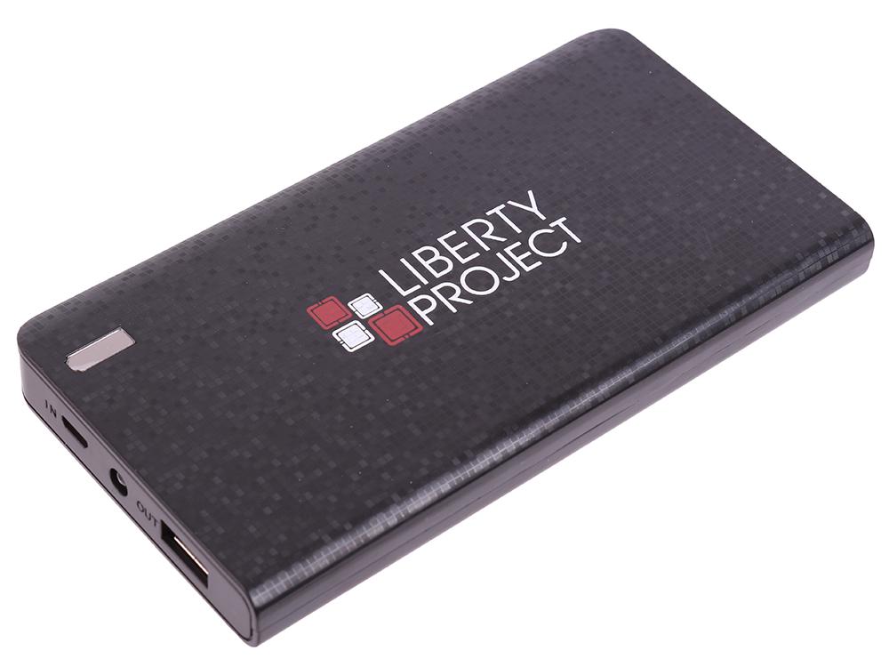 Внешний аккумулятор LP 8000 мАч Li-Pol USB выход 2,1А (черный) 0L-00029997 внешний аккумулятор redline b8000 8000 мач серый