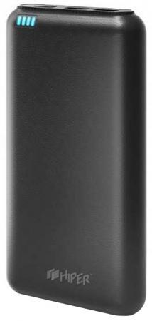 Фото - Портативное зарядное устройство HIPER SP20000 20000мАч черный внешний аккумулятор hiper sp20000 blue