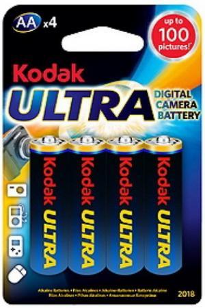 Батарейки Kodak Ultra Digital LR6-4BL 4 шт KAA-4 UD 80/400/17600 батарея canyon lr6 4bl aa 4 шт