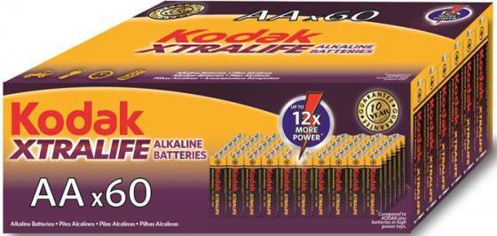 Батарейки Kodak Xtralife LR6-60 (4S) 60 шт KAA-60 60/720/18720 60